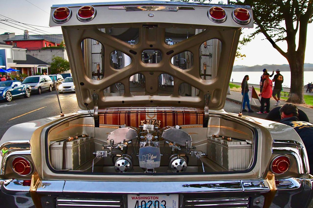 Easy Duz It Car Club Shows The Sweetness Of Low Riding On Alki