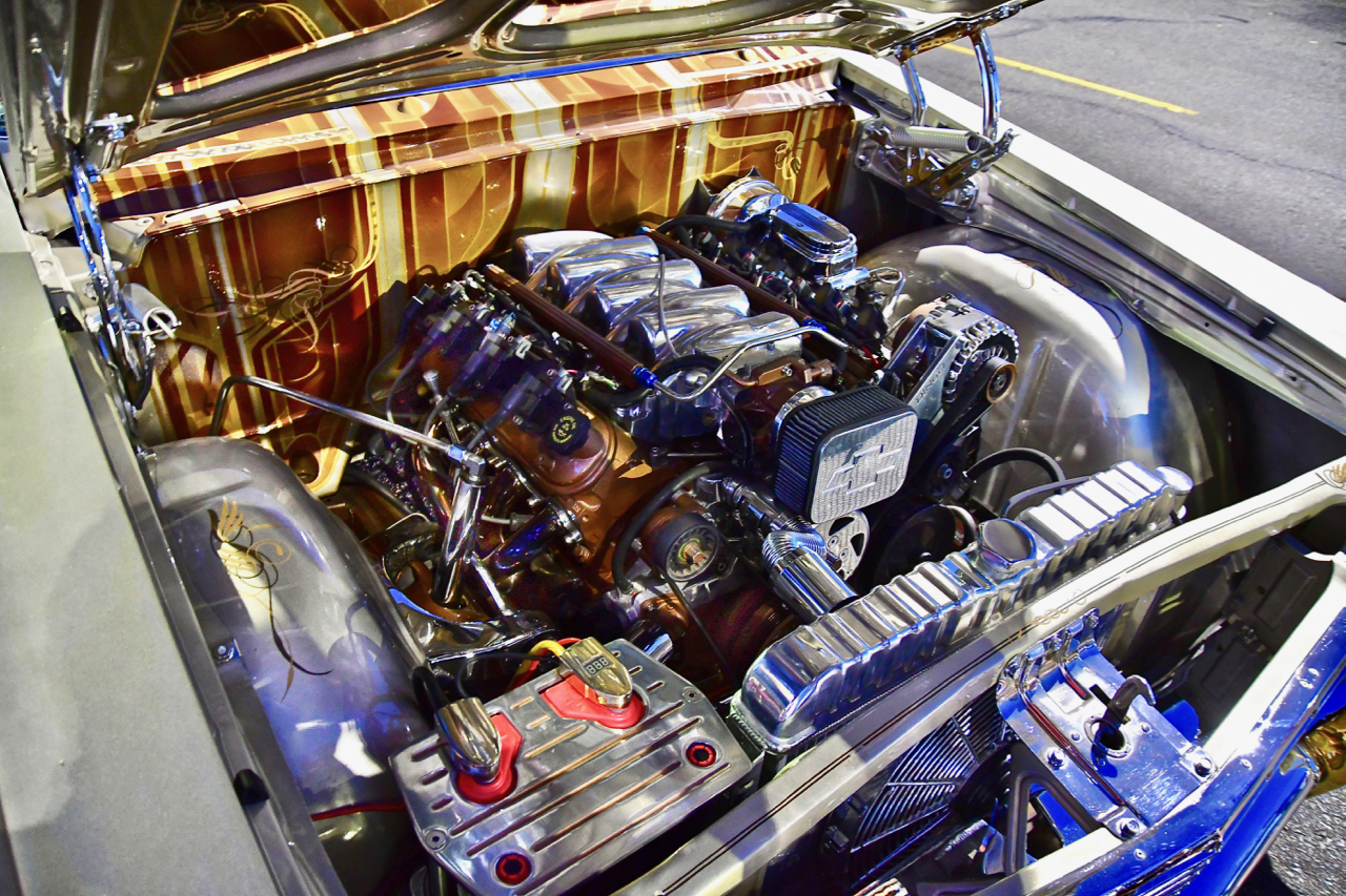 This is an L-1 Corvette engine. These cars are not slow. Photo by Patrick Robinson