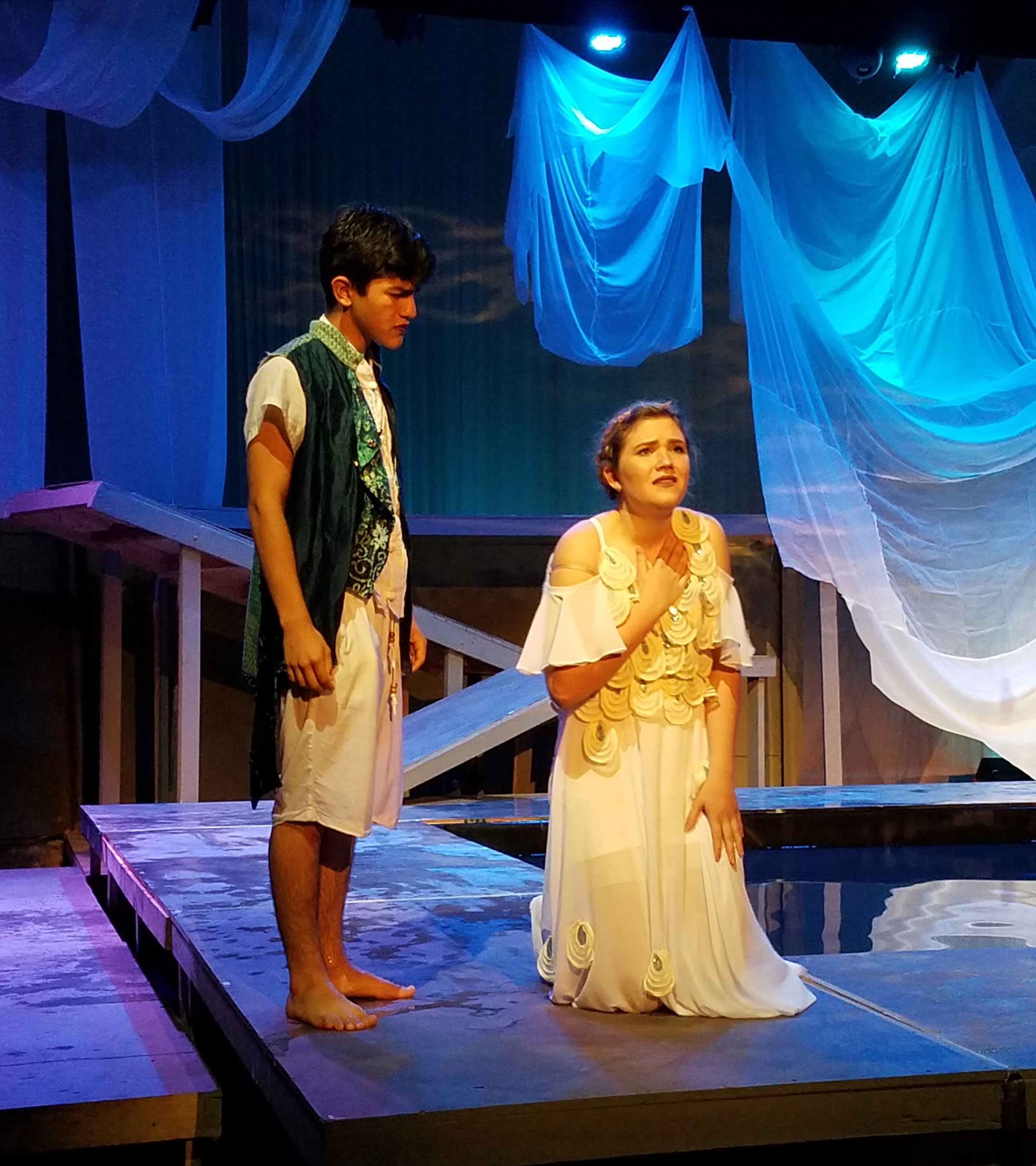 Ballard Performing Arts Playmakers Make a Splash with Metamorphoses