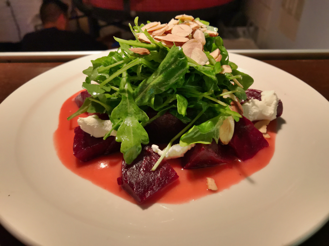 Roasted beet, arugula and goat cheese salad is coming to the menu at Pizzeria 22