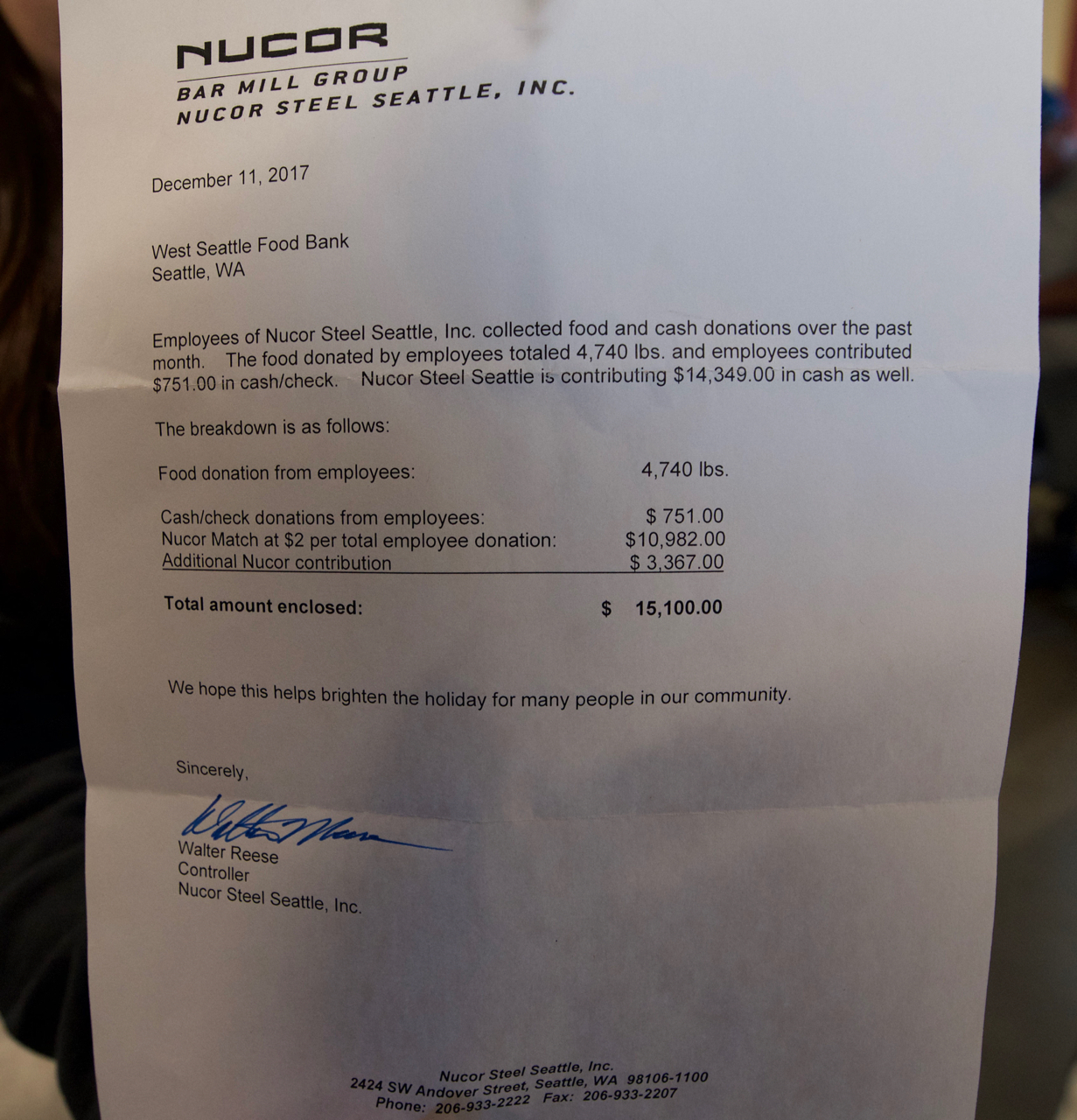 nucor memo Search careerbuilder for nucor steel jobs and browse our platform apply now for jobs that are hiring near you.