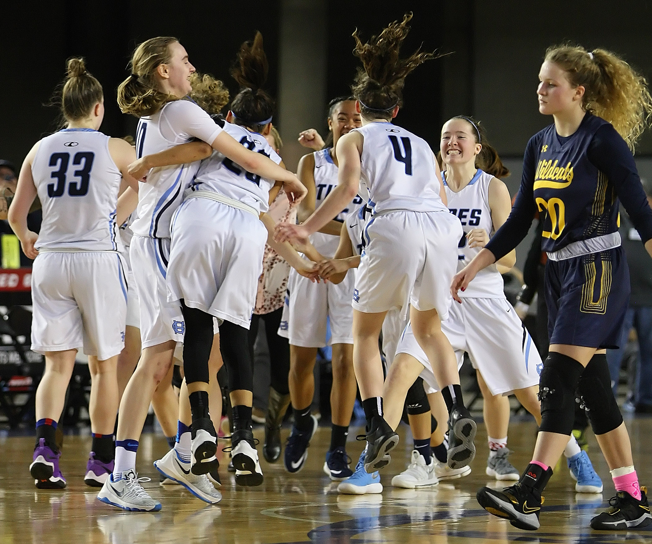 The thrill of victory for Gig Harbor, and the agony of defeat for West Seattle.