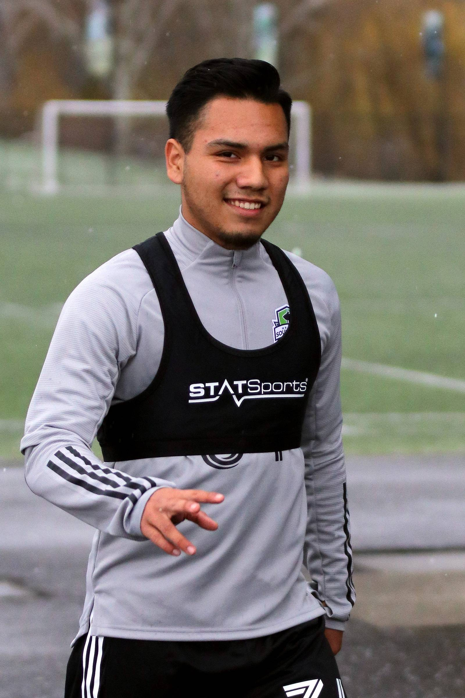 #34 Danny Robles, of Burien, plays for Sounders FC Academy