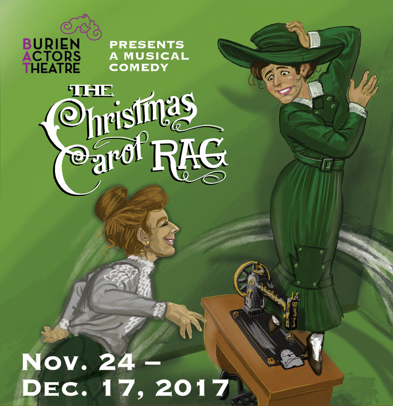 musical comedy the christmas carol rag features female scrooge at burien actors theatre