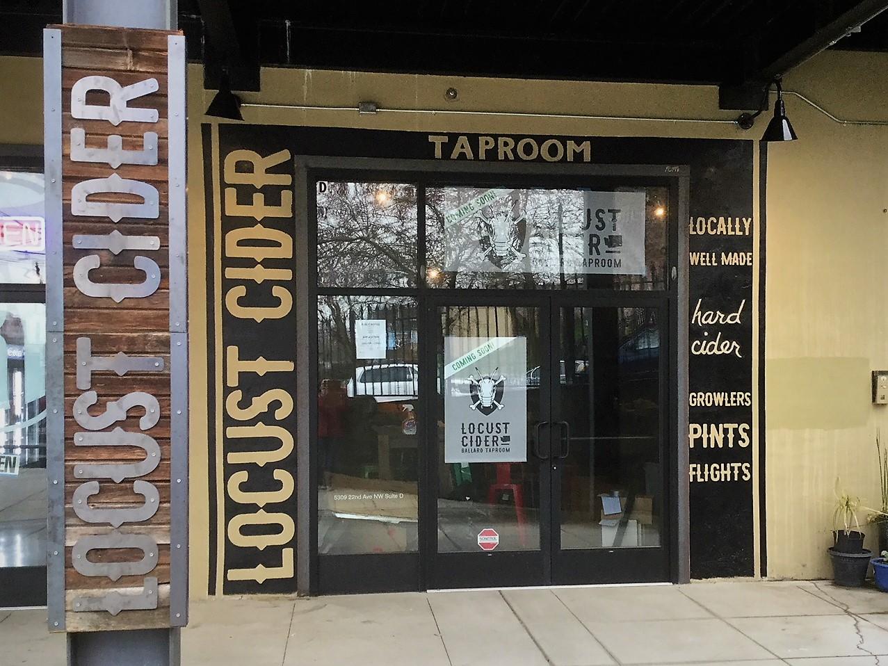 Locust Cider Is Coming To Ballard