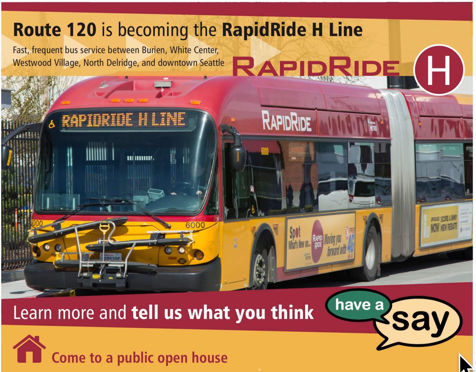 Open house Oct  10 on Route 120 improvements: