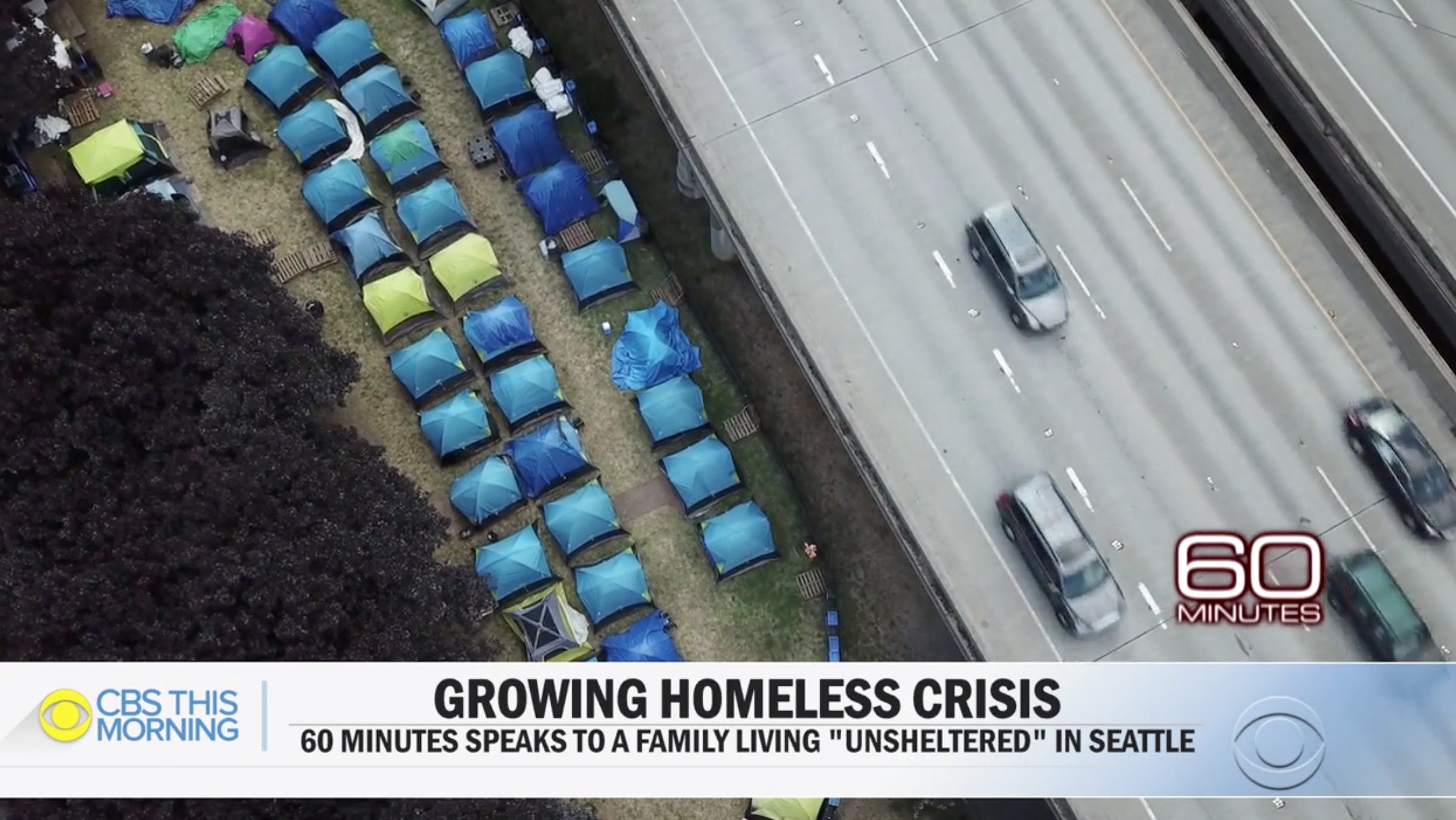 60 minutes seattle homeless