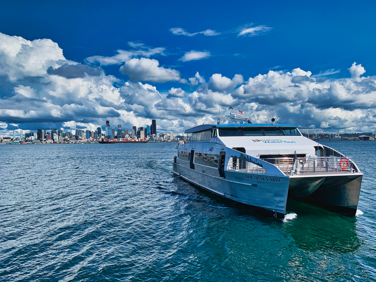 Water taxi adding additional round trip sailing on Sunday, September 22  | Westside Seattle