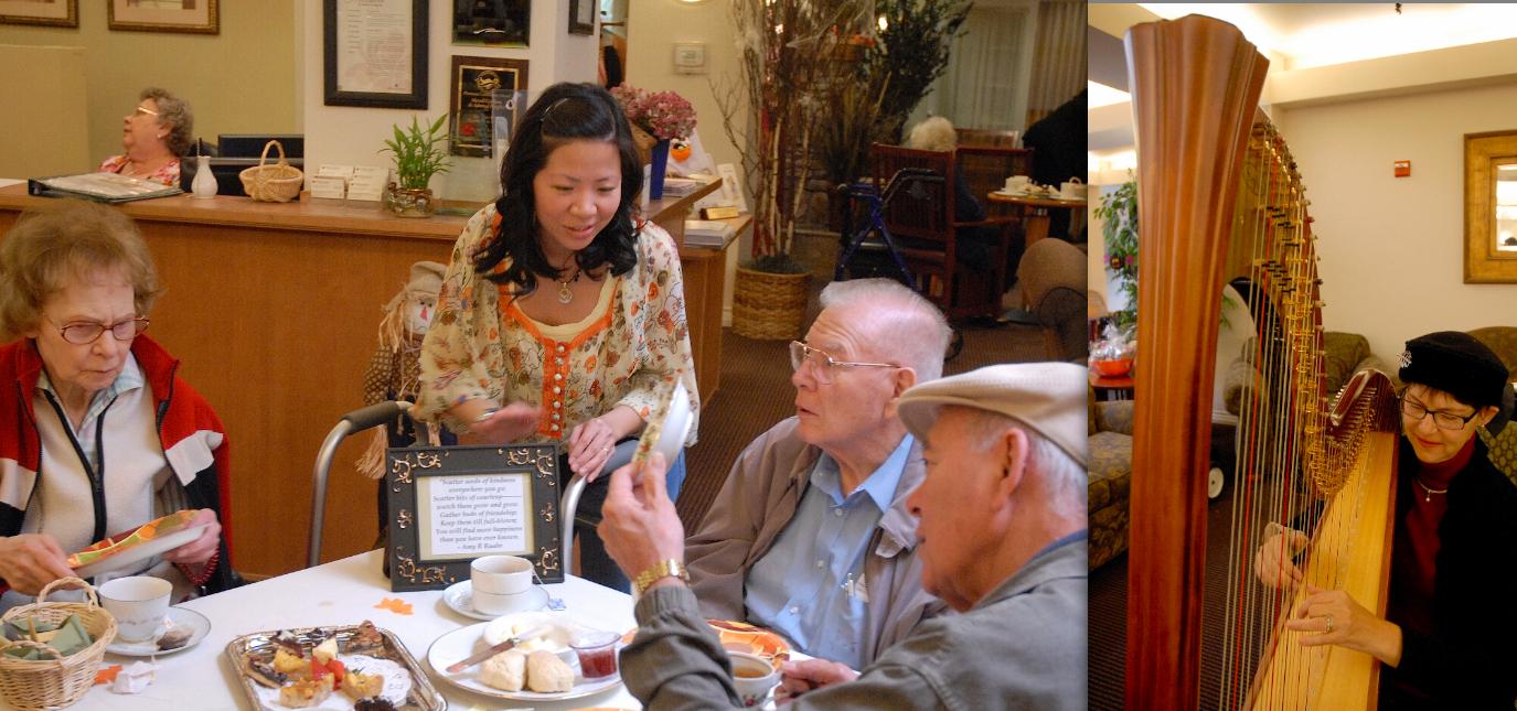High Tea at Merrill Gardens at Admiral Heights gives thanks