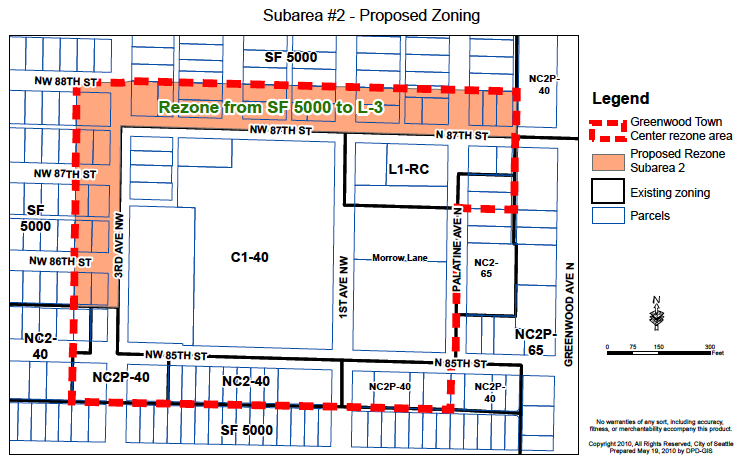 Greenwood rezone process gets underway | Westside Seattle