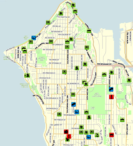Seattle Crime Map now available | Westside Seattle
