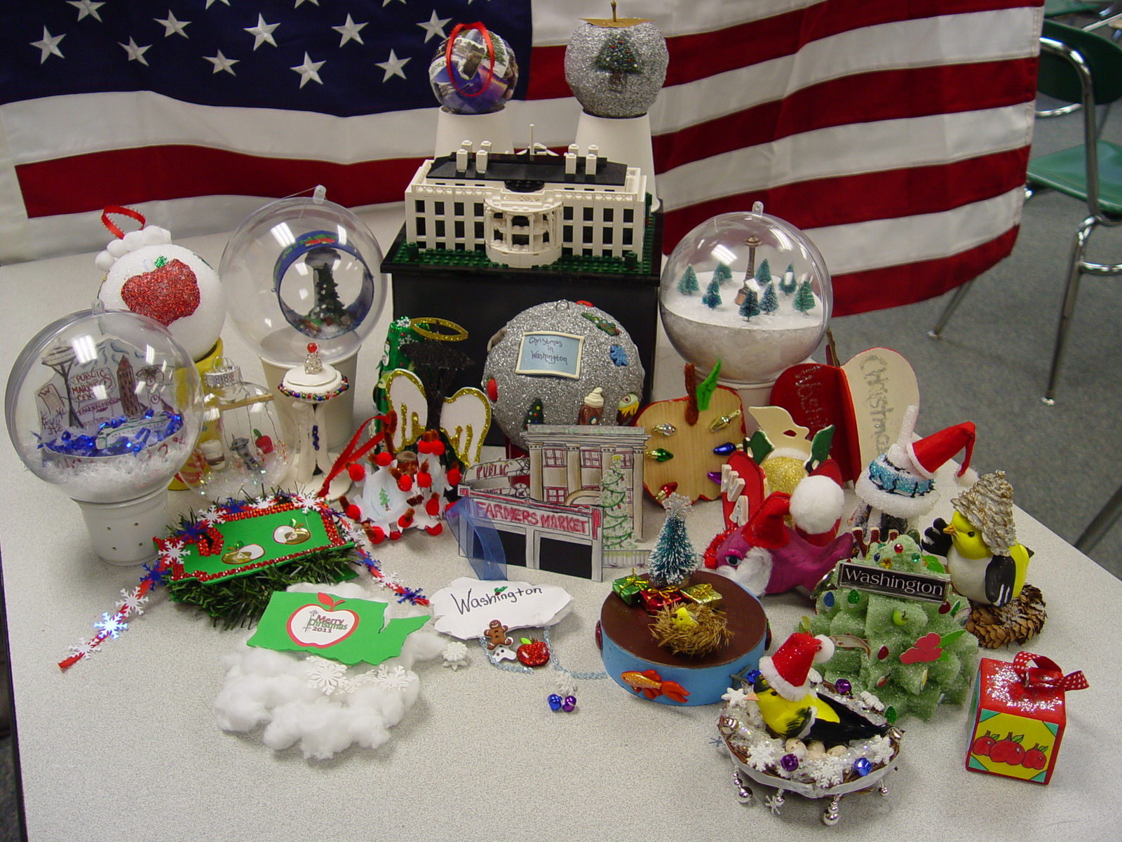SeaTac students picked to make Christmas ornaments for state tree in Washington D.C.