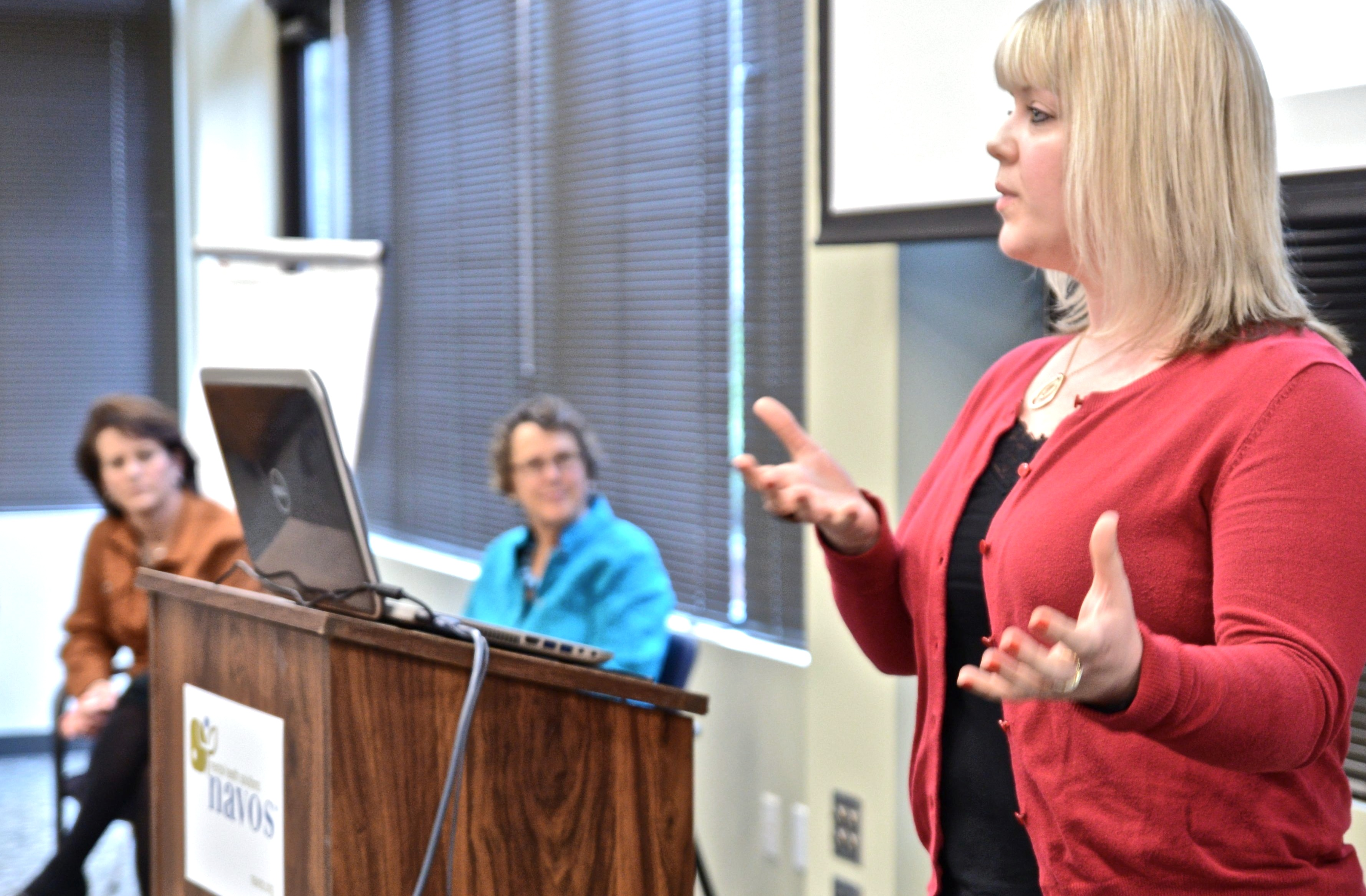 King County Suicide Prevention Coalition Speak At Navos Doctors