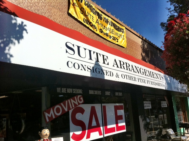 Suite Arrangements Furniture Consignment Moving To West Seattle