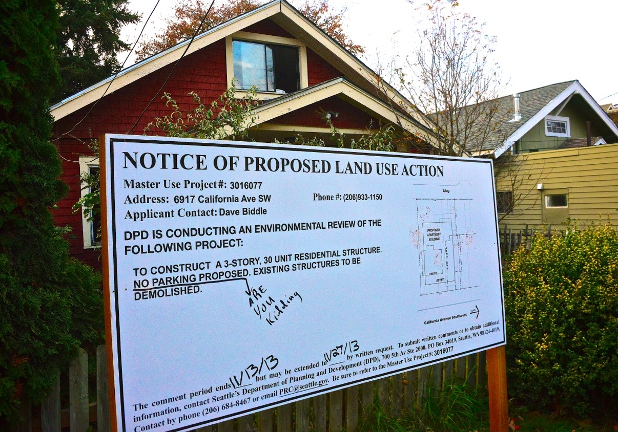 Are you kidding projects sans parking and more in the west projects sans parking and more in the west seattle pipeline malvernweather Choice Image