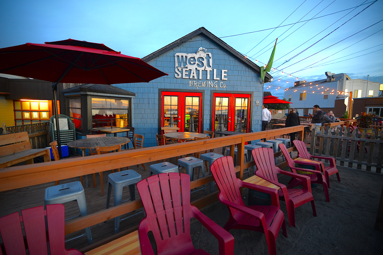 Update West Seattle Brewing Tap Shack Now Open On Alki Beach