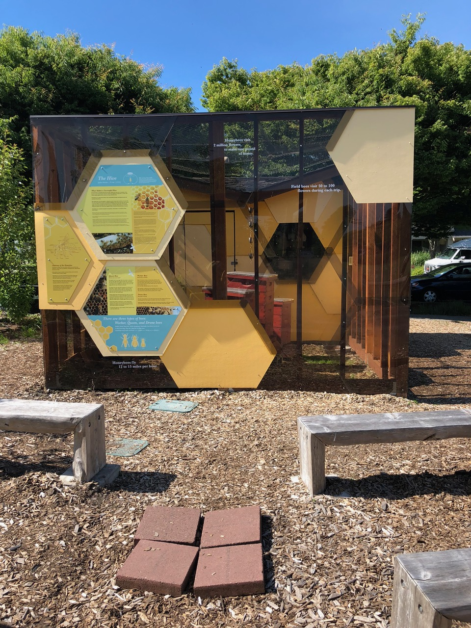 West Seattle Garden Tour featured eleven homes and one for bees