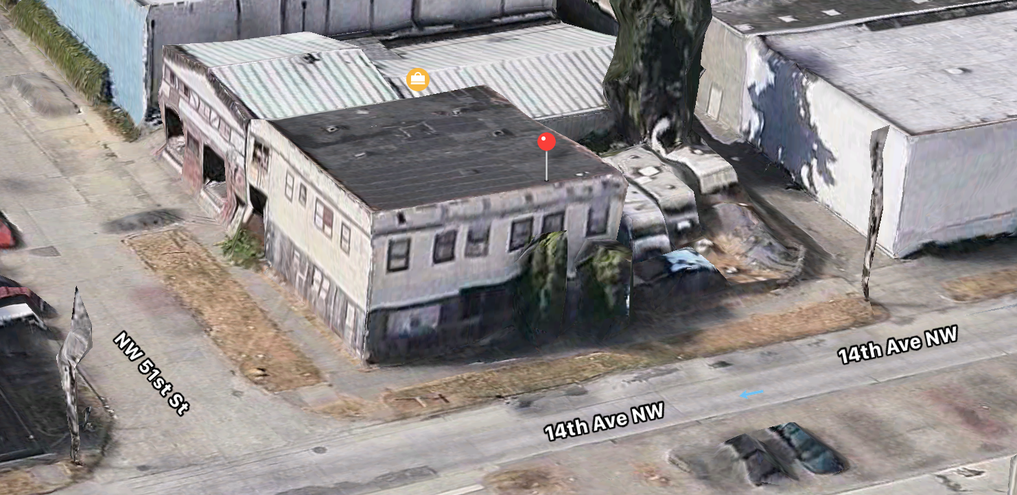 The existing building would be torn down. Image - Apple Maps