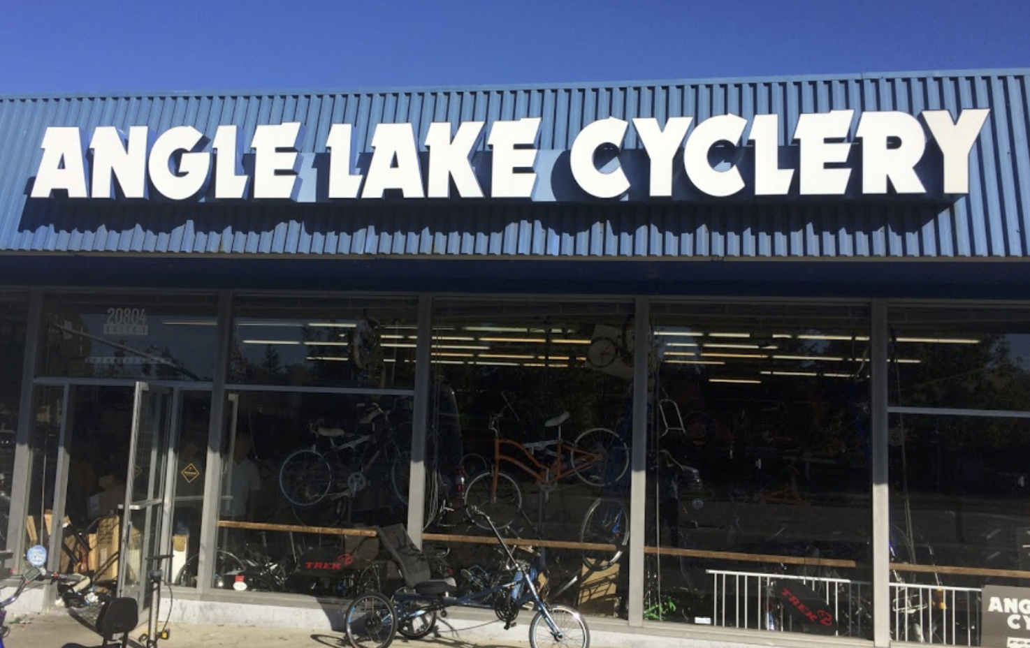 Angle Lake Cyclery original location