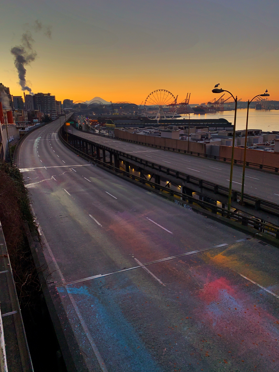 Viaduct sunrise