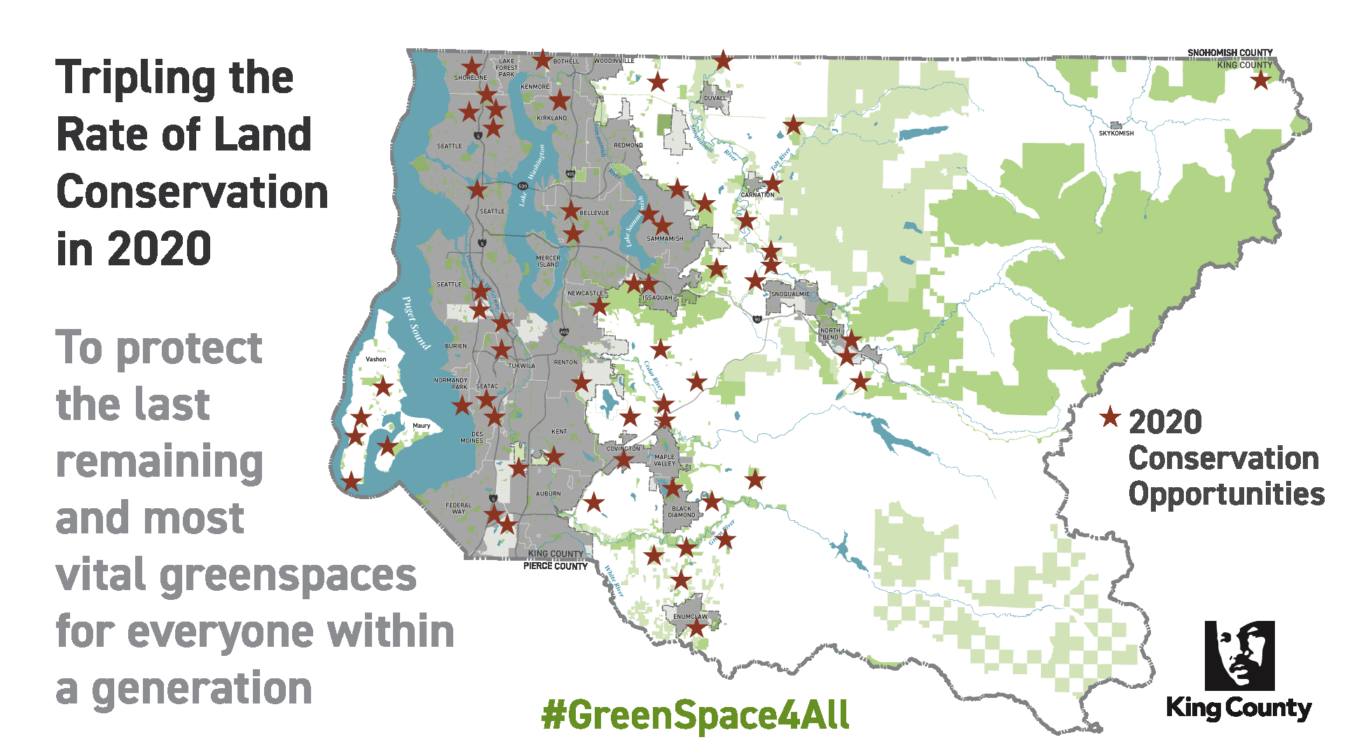 open space land conservation in King County