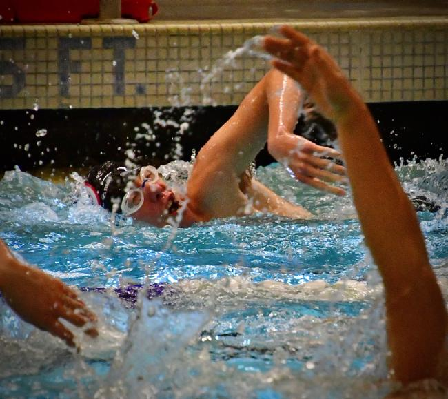 Ballard Depth Charges Seahawks Wildcats In Meet At Swac