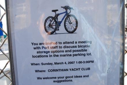 Bike storage problems at Shilshole | Westside Seattle