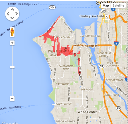 UPDATE: Power outage in West Seattle affects 4213 customers
