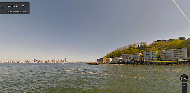 Google Maps provides 360 views of West Seattle waterways for the ...