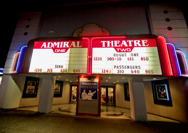 admiral theater opens fourth theater friday grand opening and finishing touches coming in feb westside seattle admiral theater opens fourth theater